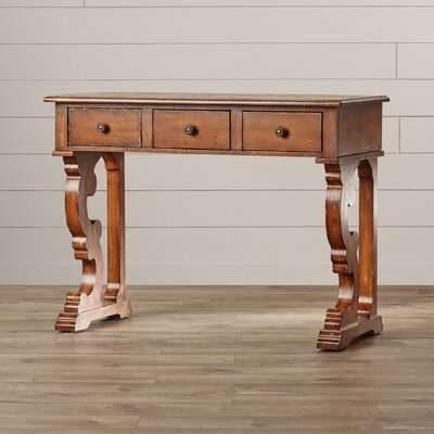 Masterpiece Console Table Finish: Distressed Brown
