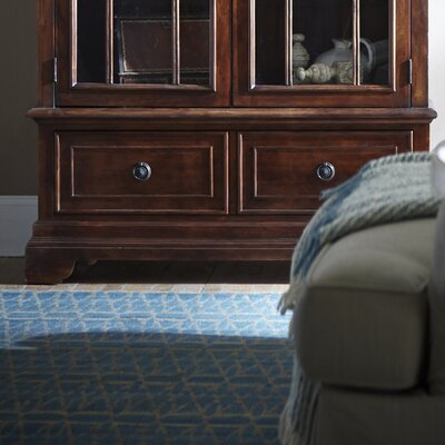 Donie China Cabinet Base Finish: Mahogany