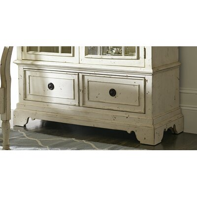 Donie China Cabinet Base Color: White