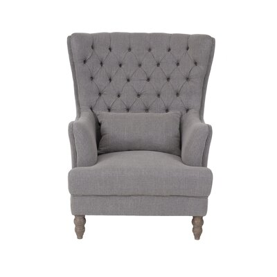 Spring Ridge Wingback Chair Finish: Taupe