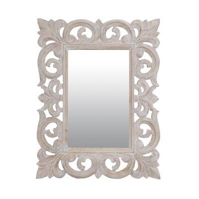 "Esmond Rectangle Mirror Size: 31"" H x 24"" W x 1.2"" D OAWY3606 28617690"