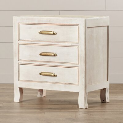 Tampa 3 Drawer Nightstand