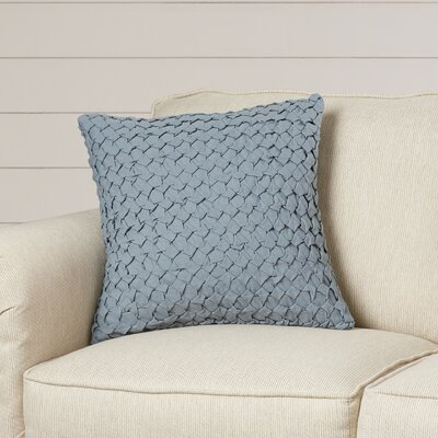 Marine Linen Throw Pillow Size: 18 H x 18 W x 4 D, Color: Moss