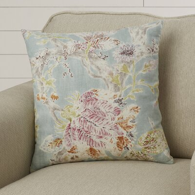 Ilana Throw Pillow Color: Seaglass, Size: 20