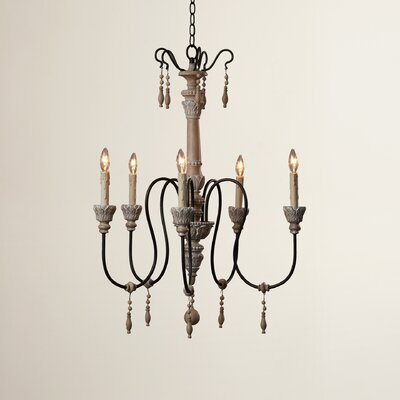 Corneau 5-Light Candle-Style Chandelier