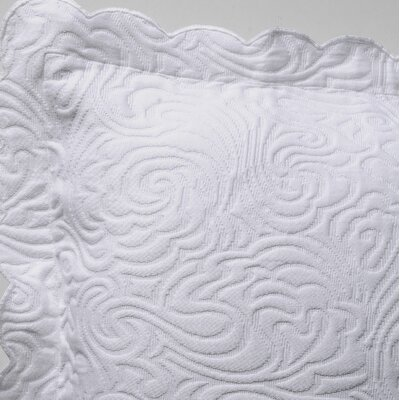 Levesque Coverlet Size: King, Color: White
