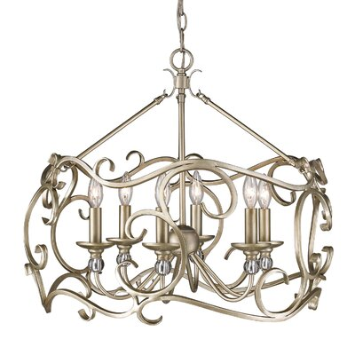 Ulysse 6-Light Candle-Style Chandelier