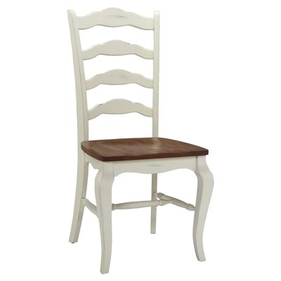 Allaire Solid Wood Dining Chair Side Chair Finish: White