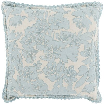 Aguilera Throw Pillow Size: 18 H x 18 W x 4 D, Color: Blue