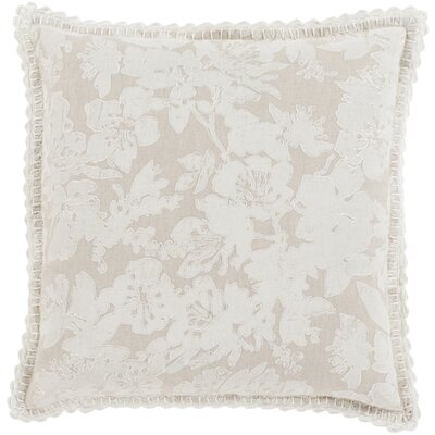 Aguilera Throw Pillow Size: 22 H x 22 W x 4 D, Color: Neutral