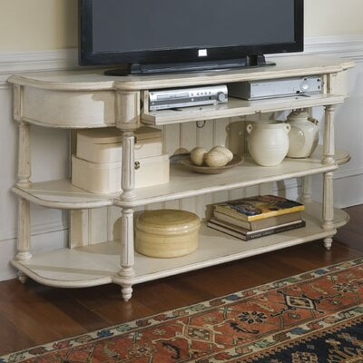 Mariana TV Stand in Distressed Ivory