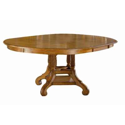 Halton Round Dining Table Finish: Antique Pine