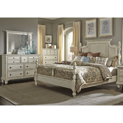 Philomena Four Poster Customizable Bedroom Set