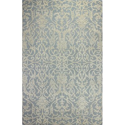 Ambrine Hand-Tufted Light blue Area Rug Rug Size: 5' x 7'6