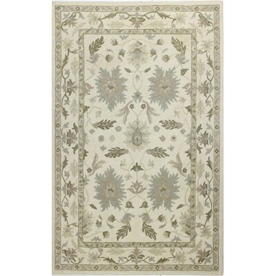 Paris Hand-Tufted Beige Area Rug Rug Size: Rectangle 5 x 8