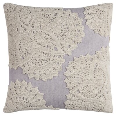 Chahine Cotton Pillow Cover Color: Ivory