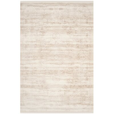 Elodie Creme Area Rug Rug Size: Rectangle 4 x 6