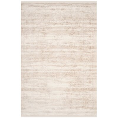 Elodie Creme Area Rug Rug Size: 8 x 10