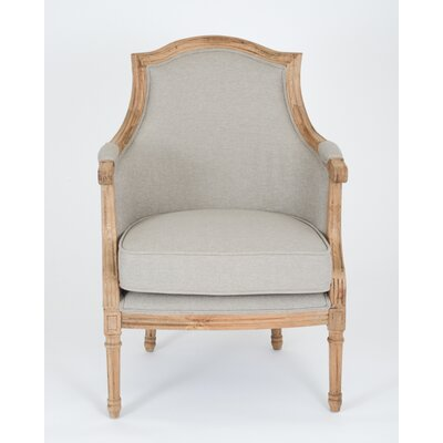 Richmond Armchair Color: Gray