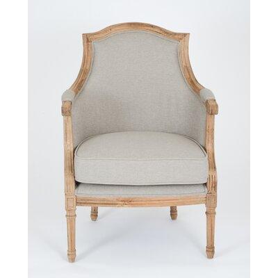 Richmond Arm Chair Color: Gray