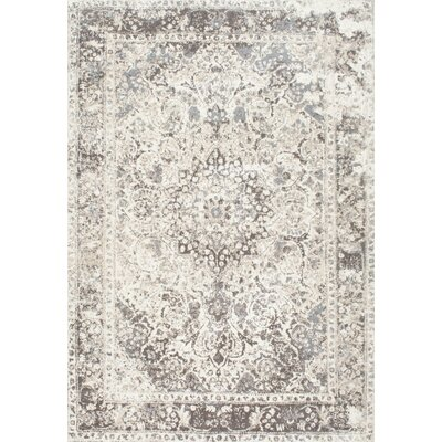 Arrelles Beige Area Rug Rug Size: Rectangle 4 x 6