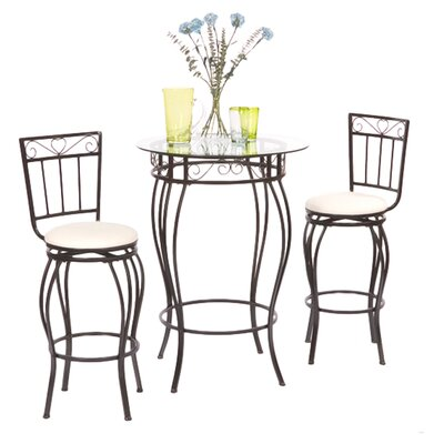Ann 3 Piece Pub Table Set