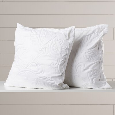 Opal Quilted Throw Pillow