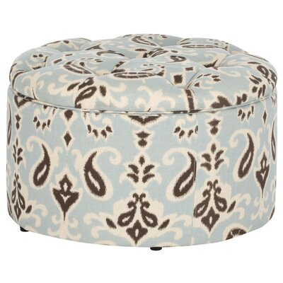 Lenore Upholstered Storage Ottoman