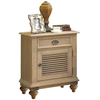 Quevillon 1 Drawer Nightstand