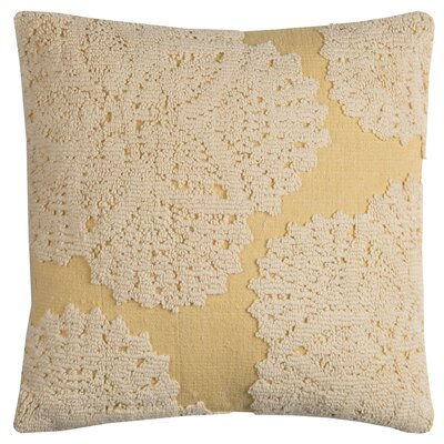 Chahine Throw Pillow Color: Yellow