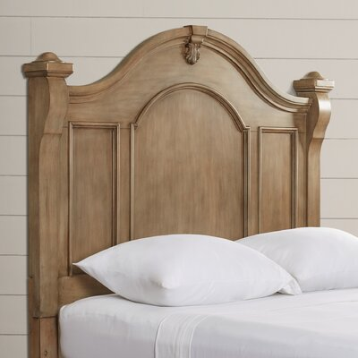 Rosas Weathered Panel Headboard Size: King