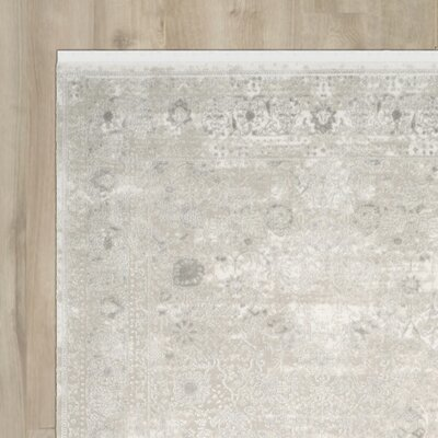 Elodie Gray Area Rug Rug Size: Runner 22 x 8