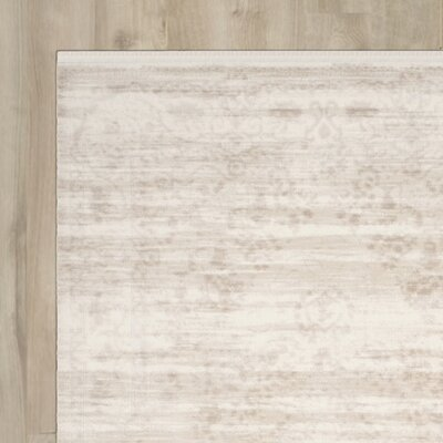 Elodie Creme Area Rug Rug Size: Runner 22 x 8