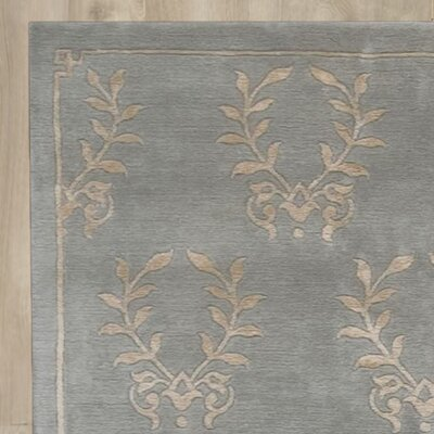 Basile Hand-Knotted Blue Area Rug