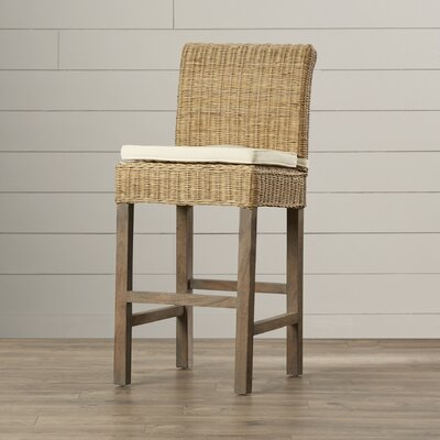Justine Bar Stool with Cushion