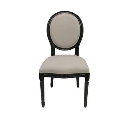 Quentin Side Chair Finish: Black