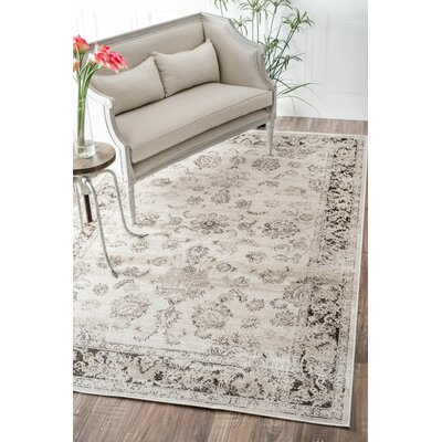 Helenie Area Rug Rug Size: Rectangle 52 x 8