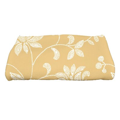 Grovetown Traditional Floral Bath Towel Color: Gold