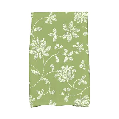 Cecilia Traditional Hand Towel Color: Green