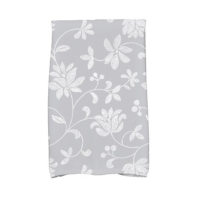 Cecilia Traditional Hand Towel Color: Gray