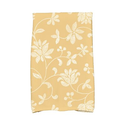 Grovetown Traditional Hand Towel Color: Gold