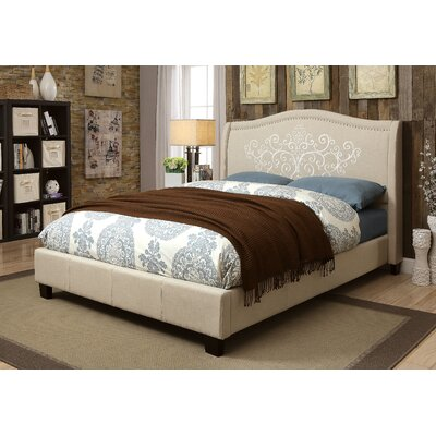 Celsie Upholstered Platform Bed Size: California King