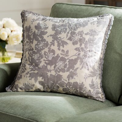 Olga Throw Pillow Size: 20 H x 20 W x 4 D, Color: Gray