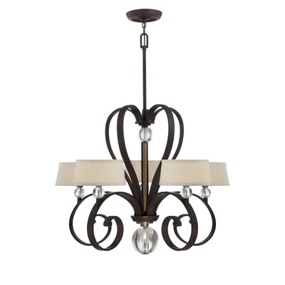 Watford City 5-Light Shaded Chandelier