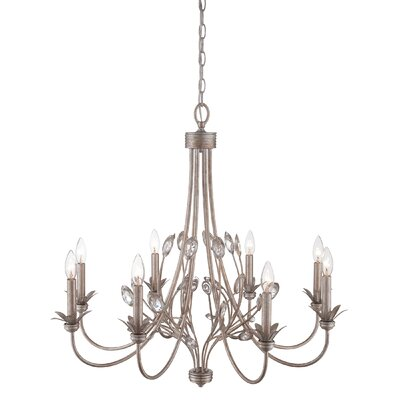 Liesse 8-Light Candle-Style Chandelier
