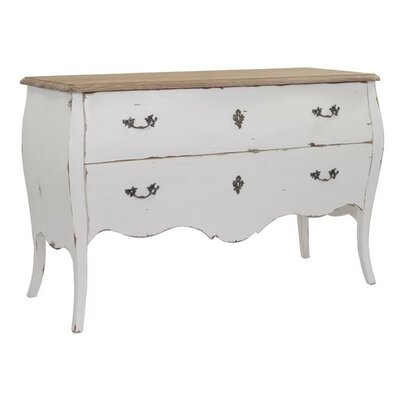 Coleman 2 Drawer Dresser Color: White