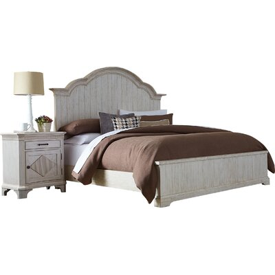 Turenne Wood Panel Headboard Size: King