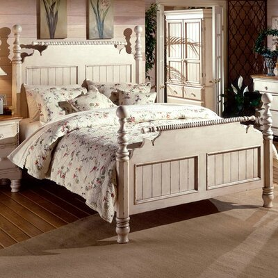 Halton Panel Bed Size: King