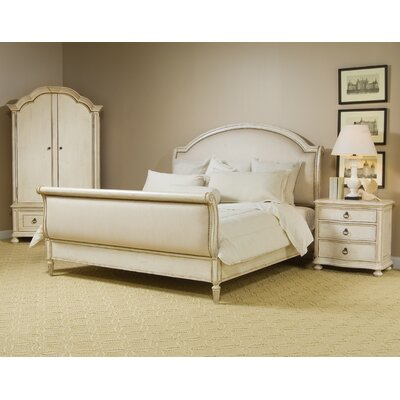 Daniella Upholstered Sleigh Customizable Bedroom Set