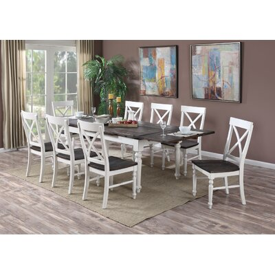Mulcahy 9 Piece Dining Set